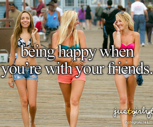 friends, happy, and summer image