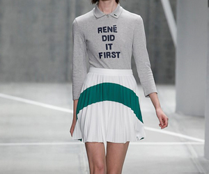 fashion, lacoste, and ready-to-wear image