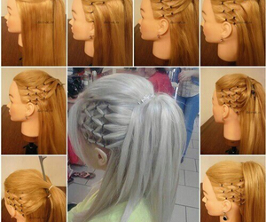 cool, hair, and do it yourself image