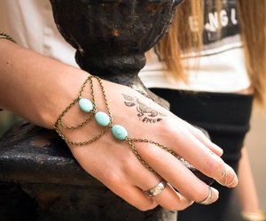 accessories, boho, and bracelet image