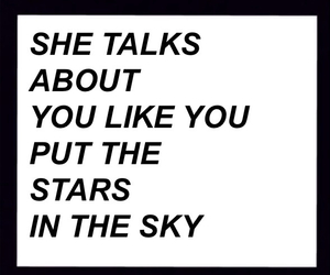 stars, love, and quote image
