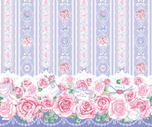 background, flowers, and lolita image