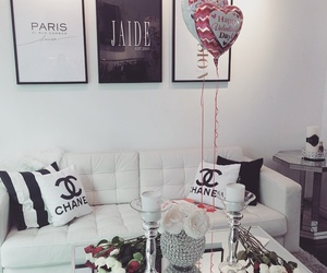 chanel, room, and decor image