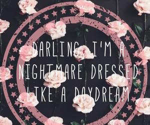 daydream, flowers, and nightmare image