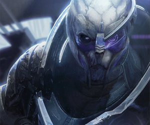 mass effect and garrus vakarian image