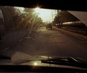 autumn, road, and moscow image