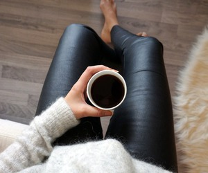 fashion, coffee, and morning image
