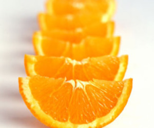 orange, blue, and fruit image