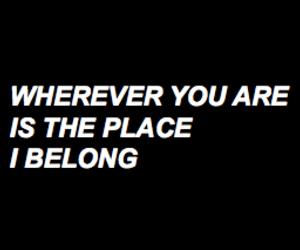 black&white, caps, and Lyrics image