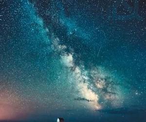 beautiful, galaxy, and inspiration image