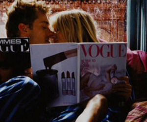 vogue, love, and couple image