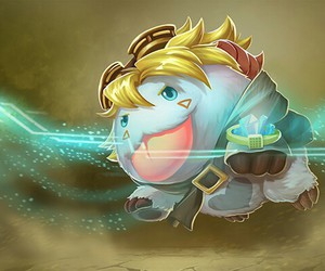 league of legends, poro, and ezreal image