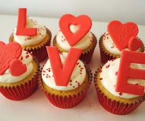love and cupcake image