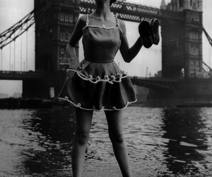 black and white and vintage image