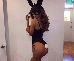 body, rabit, and brunette image