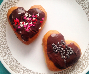donuts, festive, and food image