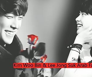 drama, korea, and red image