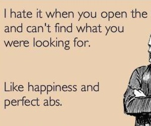 quote, abs, and funny image