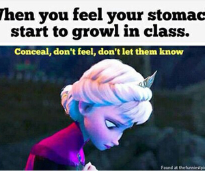 frozen, funny, and elsa image