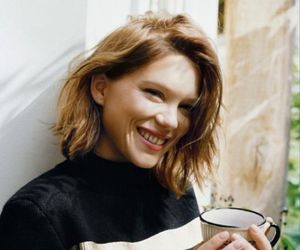 Lea Seydoux and woman image