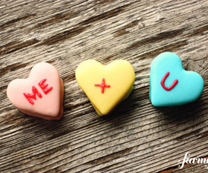 love, candy, and me and you image