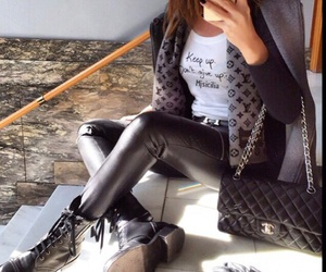 fashion girl and style image