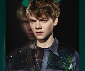 the maze runner and thomas brodie-sangster image