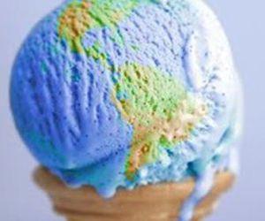 ice cream, world, and earth image