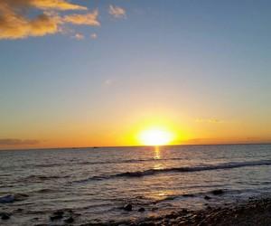 Island, sun, and beach image