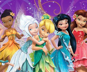 disney, tinkerbell, and Fairies image