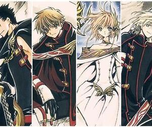 anime, syaoran, and sakura image
