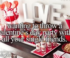 love, party, and single image