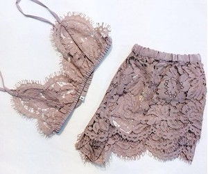 fashion, lace, and style image