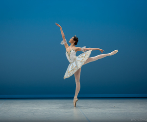 arabesque, ballerina, and ballet image