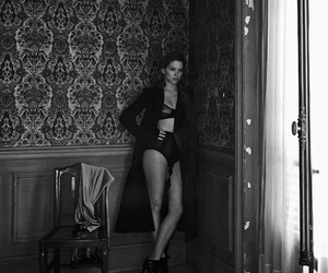 Lea Seydoux, interview magazine, and peter lindbergh image