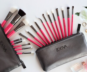makeup, fashion, and cosmetics image