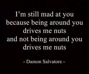 damon, damon salvatore, and love image