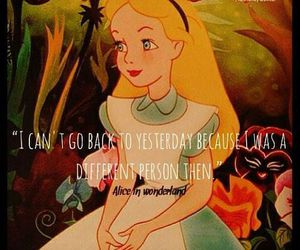 quote, alice in wonderland, and disney image