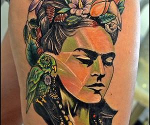 awesome, frida kahlo, and ink image