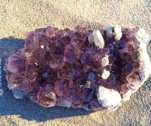 amethyst, cluster, and crystal image