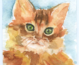 animals, art, and painting image