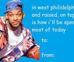 will smith, funny, and valentine image