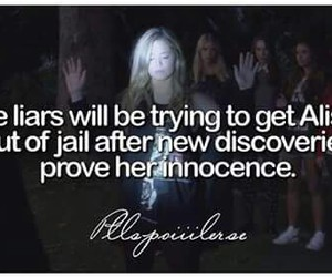 alison, innocence, and jail image