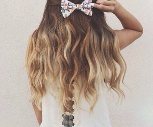 girly, fashion, and hair image
