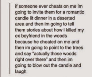funny, boyfriend, and cheating image