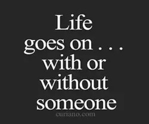 quote, life, and someone image
