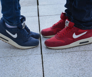 air max, couple, and forever image