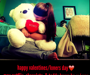 bear, red shirt, and Valentine's Day image