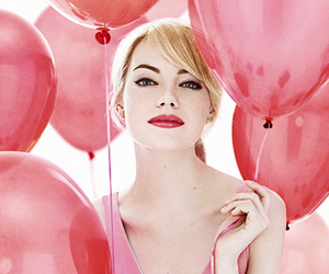emma stone and pink image