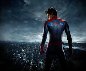 spiderman, the amazing spiderman, and andrew garfield image
